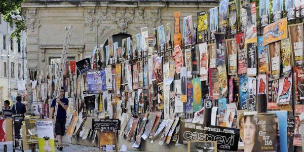 03.07.Affiches.festival.Avignon.ANNE-CHRISTINE POUJOULAT  AFP.1280.640