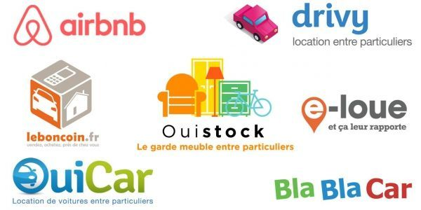 08.02.Economie collaborative Airbnb Ouicar Blablacar Drivy boncoin.DR.1280.640
