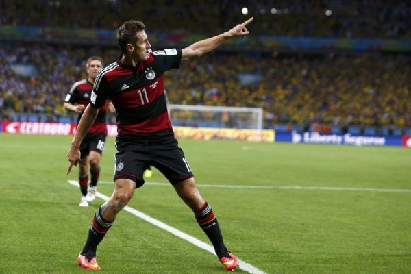 09.07 930x620 Klose Allemagne Brésil Football