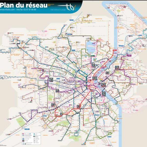Carte Bordeaux Transport En Commun.Les Transports En Commun Une Bombe Financiere A Retardement