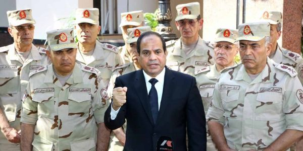 13.02.Egypte.general.Sissi.armée.AFP PHOTO  HO EGYPTIAN PRESIDENCY.1280.640
