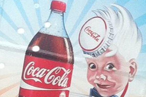 14.03 coca cola affiche vintage pub préférée 930620