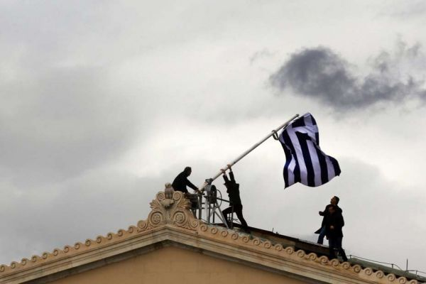 14.05 Grece, grecque, drapeau 930620