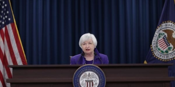 17.12.Fed Yellen banque centrale.CHIP SOMODEVILLA  GETTY IMAGES NORTH AMERICA  AFP.1280.640