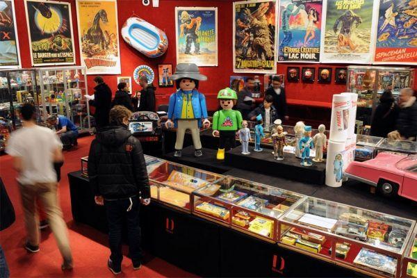 18.02. 400 jouets vintage et souvenirs de séries télévisées et de films cultes des années 1960 à 1980 sont à vendre aux enchère à Drouot. 930620