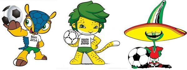 18.11.Mascotte.Coupe.monde.Bresil.AfSud.Mexique.DR.1280.604