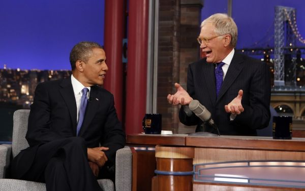 26/09/2013 Barack Obama David Letterman Reuters