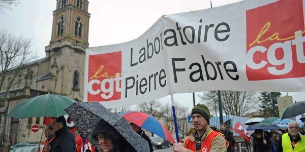 28.03.Manifestation.Castres.Pierre.Fabre2.REMY GABALDA.AFP.1280.640