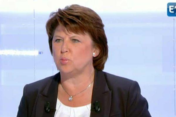 28.09 débat primaire Martine Aubry