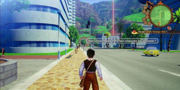 """Le monde de """"Dragon Ball Z Kakarot"""" est un peu trop vide."""