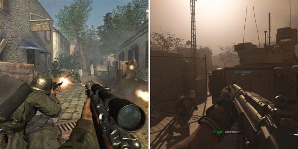 """Entre 2003 et 2019, """"Call of Duty"""" a grandement évolué."""