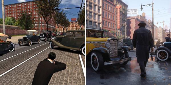 """Le remake de """"Mafia"""" concerne aussi bien les graphismes que l'univers complet du jeu, des personnages au décor en passant par l'histoire."""