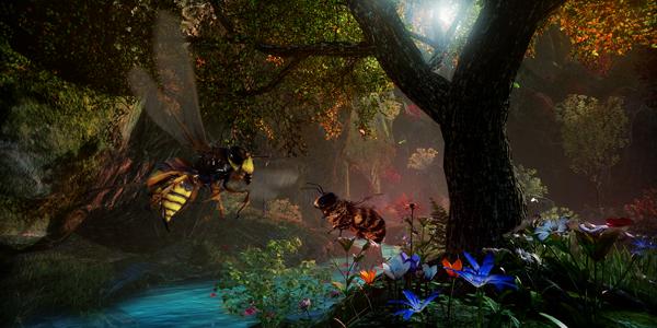 L'abeille possède de nombreux ennemis, notamment les guêpes et les frelons, et il faut se battre pour protéger la ruche.