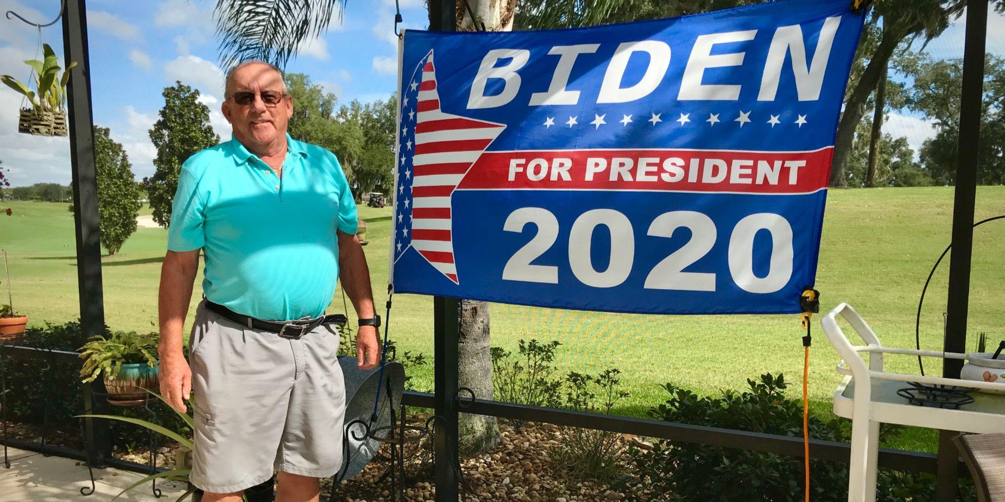 En colère contre la gestion de la crise du coronavirus aux Etats-Unis, Jeff votera Joe Biden