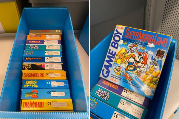 Mario, Zelda, Kirby... Tous les premiers héros du jeu vidéo sont à la BNF.
