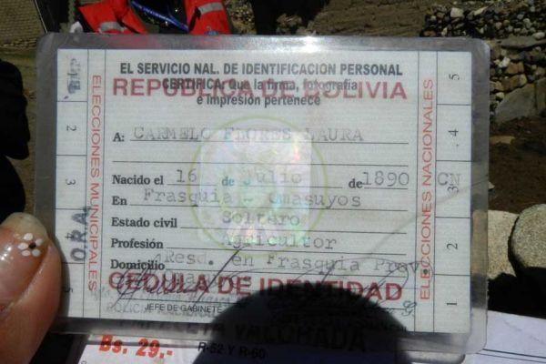 bolivie papiers 930
