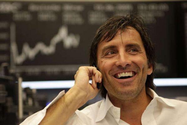 Bourse hausse Francfort