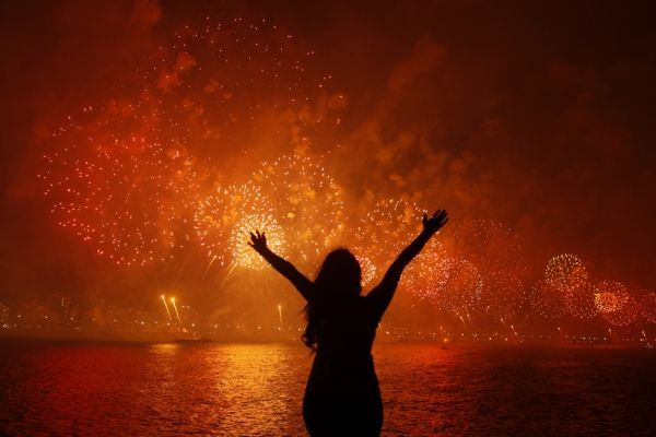 brésil feu d'artifice
