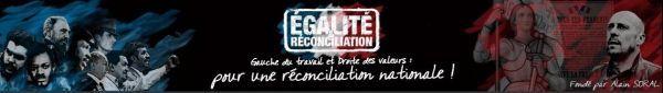 Capture d'écran du site Egalité et Réconciliation