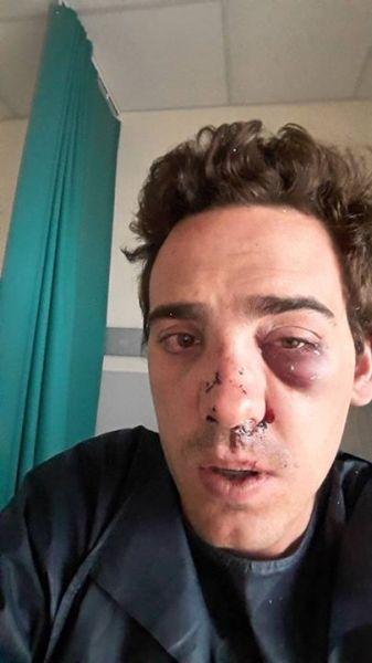 capture facebook client uber agressé par des taxis
