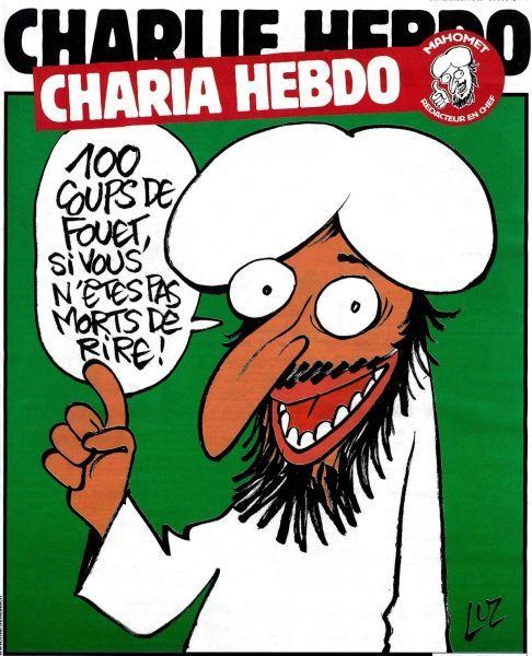 Caricature de Mahomet à la Une de Charlie Hebdo en 2011