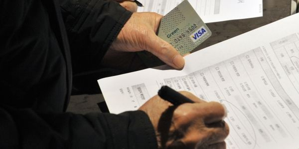 Carte bancaire AFP 1280