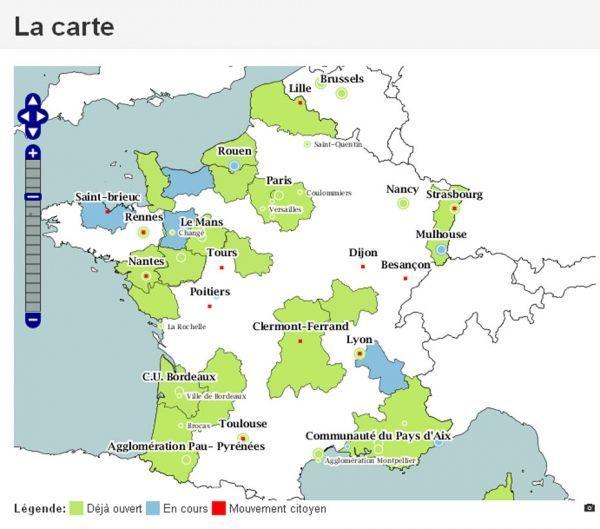 Carte Open Data