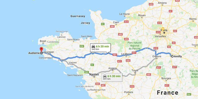 carte rapace crédit : capture d'écran Google Maps