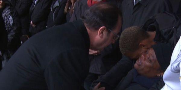 Cérémonie Hollande mère Capture France 2
