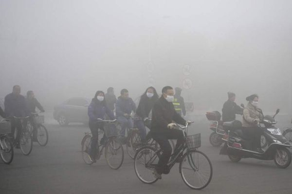 chine pollution smog REUTERS 930620