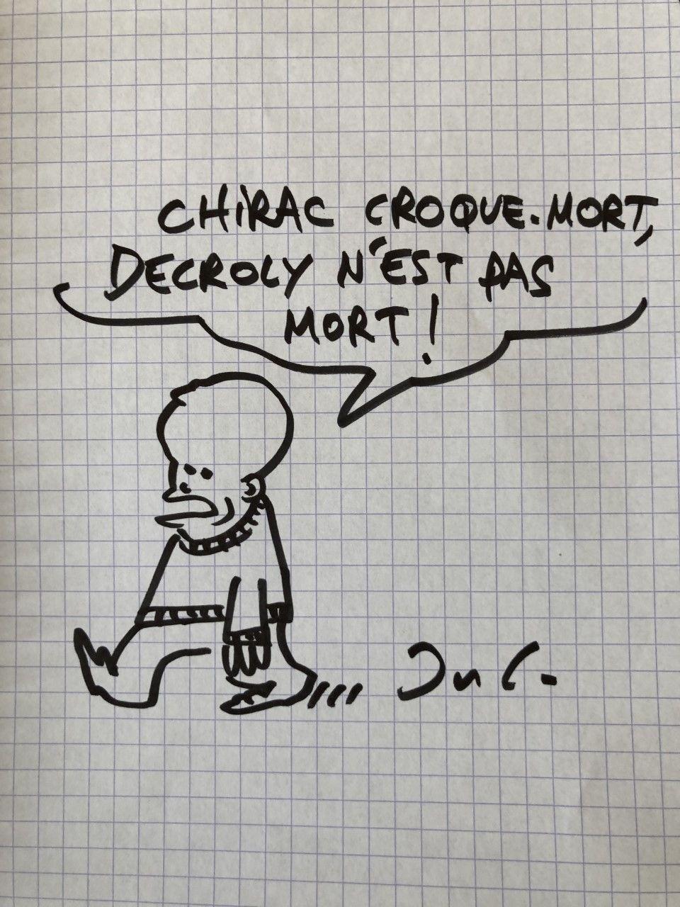 CHIRAC CROQUEMORT