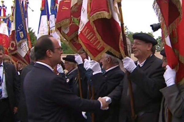 commémoration 14-18 François Hollande