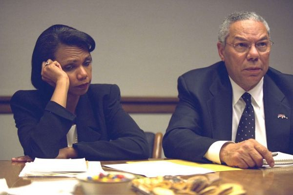 Condoleezza Rice Colin Powell
