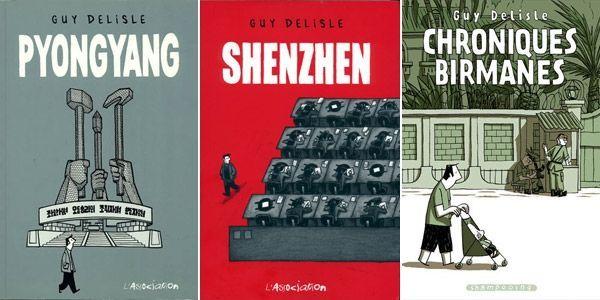 Couv Guy Delisle Shenzhen Pyongyang.600.300
