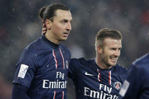 David Beckham et Zlatan Ibrahimovic, 930