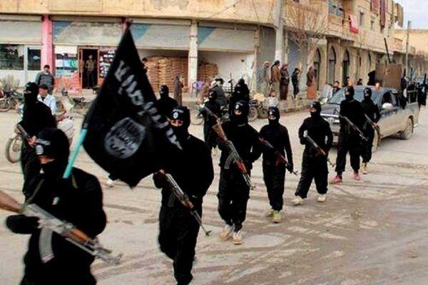 Des combattants de l'EIIL