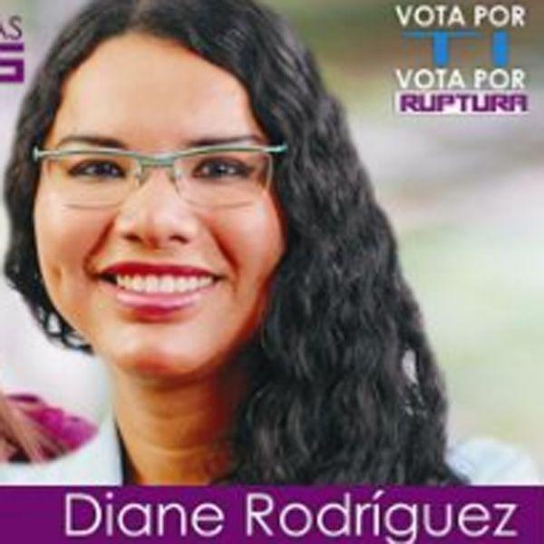 diane rodriguez, candidate en Equateur