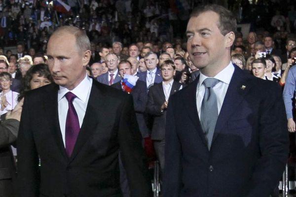 dmitri medvedev vladimir poutine REUTERS 9306320