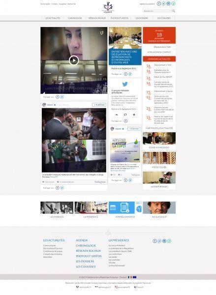 Elysee site complet