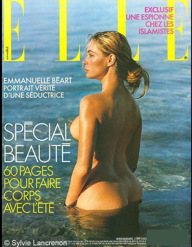 La couverture d'Emmanuelle Béart