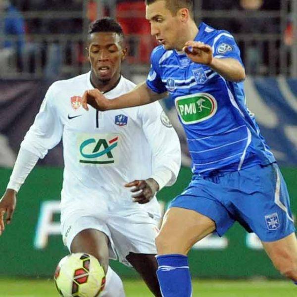 En quart de finale, l'AJA a éliminé Brest.