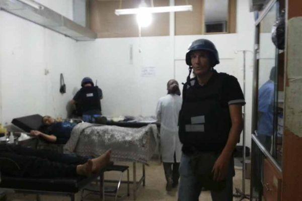 enquêteurs de l'ONU en Syrie