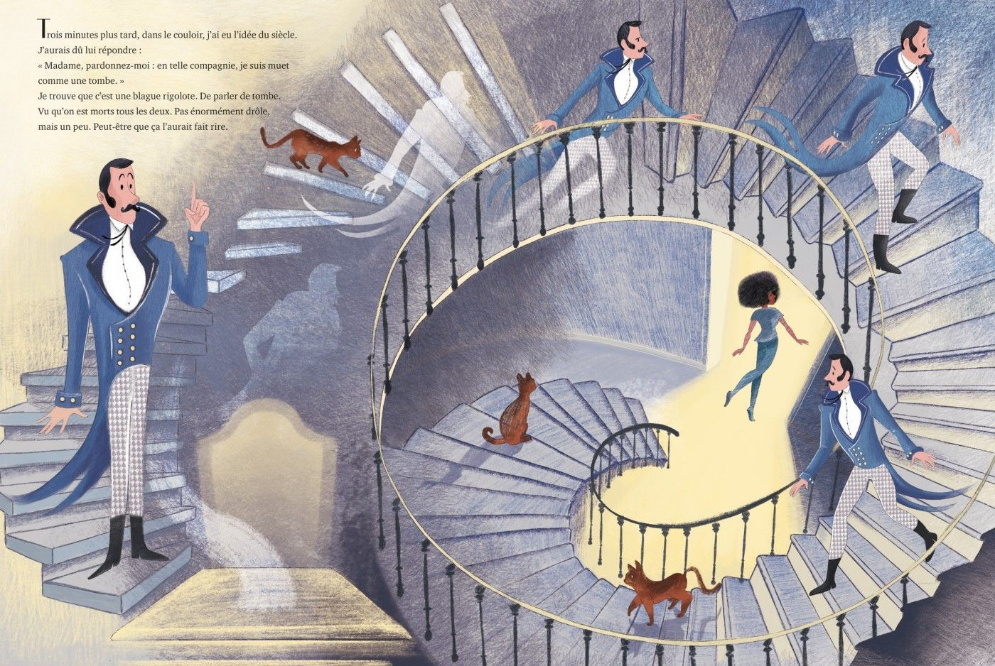 esprits escalier 2