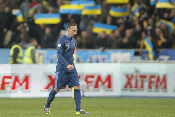 Franck Ribéry n'a pas existé contre l'Ukraine, 930