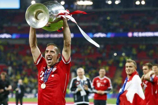 Franck Ribéry remporte la Ligue des champions, 930
