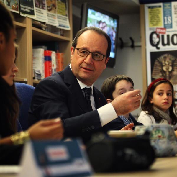 François Hollande Mon Quotidien