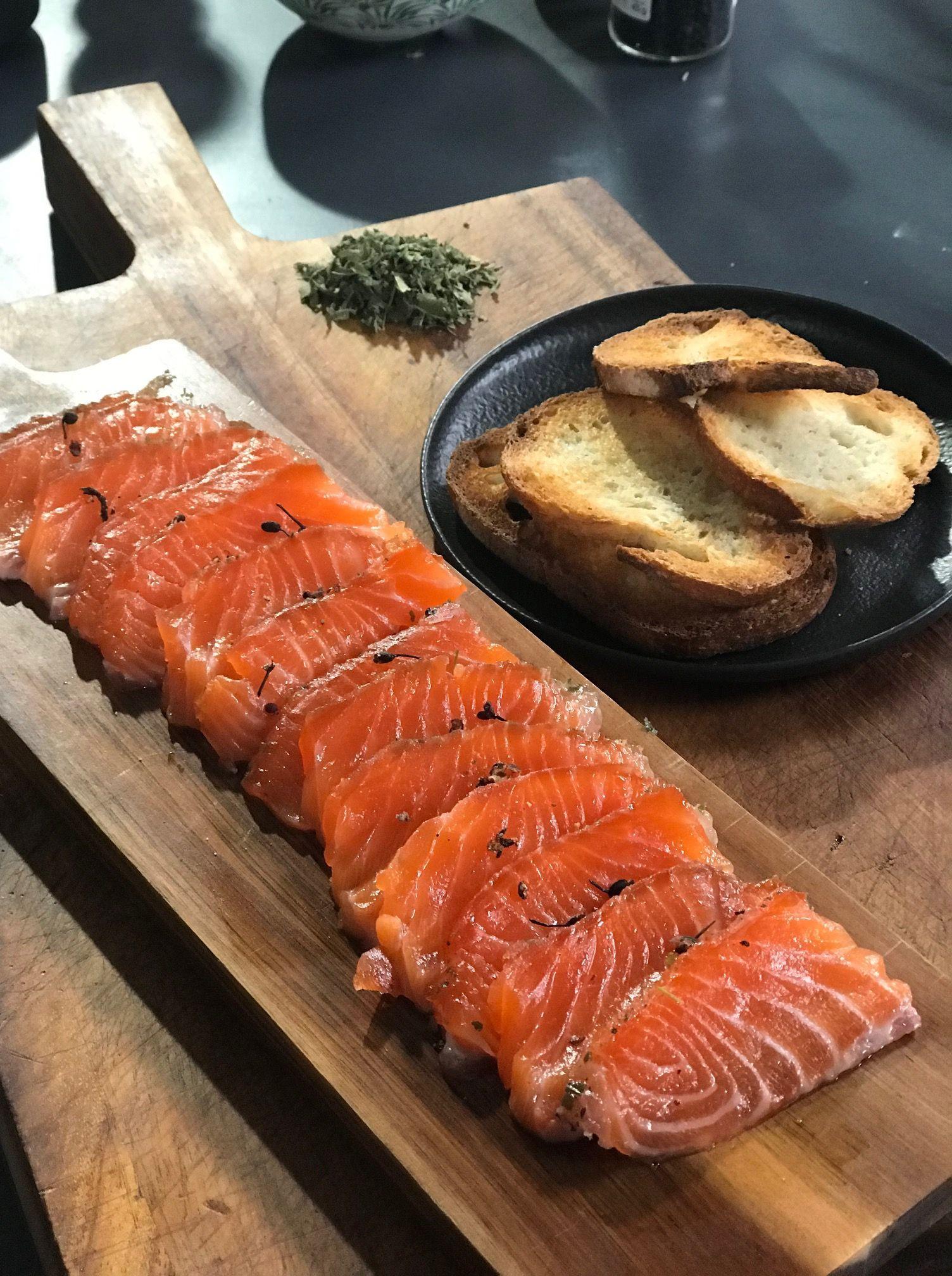 gravlax-saumon