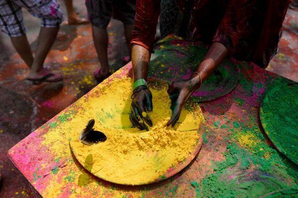 Holi pigments AFP