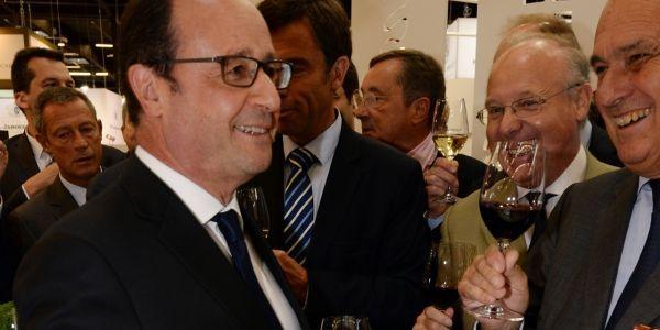 Hollande Vinexpo AFP 1280