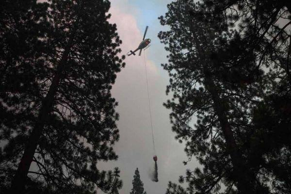 incendie au Yosemite REUTERS